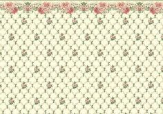 MIS PAPELES A ESCALA 1:12 Textile Patterns, Embroidery Patterns, Doll House Wallpaper, Picasa Web Albums, Pretty Patterns, Miniture Things, Printable Paper, Vintage Paper, Pattern Paper