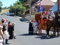 Australia Day in Carcoar Places Of Interest, Country Girls