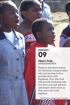 February 2017 Women of Hope Project Hannah Prayer Calendar Prayers For Hope, Psalm 27, God Will Provide, Take Heart, Serve The Lord, Marriage And Family, Trust God, Getting Married, Christianity