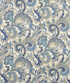 Amazon.com: Swavelle / Mill Creek Montero Lustrous Porcelain Fabric - by the Yard: Arts, Crafts & Sewing