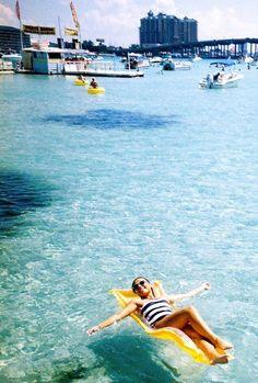 Today I miss Crab Island and Destin #florida