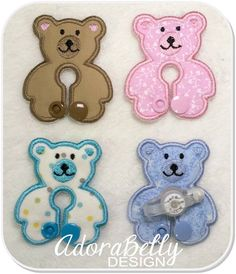Teddy Bear Shape Gtube Pads G tube Covers by AdorabellyDesign on Etsy https://www.etsy.com/listing/262547025/teddy-bear-shape-gtube-pads-g-tube