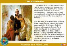 Misioneros de la Palabra Divina: SANTORAL