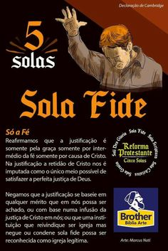 Sola Fide 1 Samuel 17, Sola Fide, 5 Solas, Reformed Theology, Reformation, Bible Verses, Brother, Lord, Study