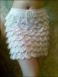 8f6628739 Las 83 mejores imágenes de Faldas de damas a crochet. en 2019 ...