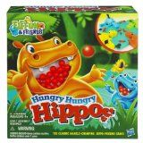 The Elefun and Friends, Hungry Hungry Hippos game from Hasbro!Kids can challenge their friends to marble-chomping fun with 4 updated Hippos in bright colours!To play, choose a Hippo . load the marbles. release all Fun Games, Games For Kids, Games To Play, Activity Games, Family Games, All Toys, Toys R Us, Kids Store, Toy Store
