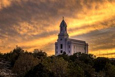 Current construction photographs of the Cedar City Utah Temple.