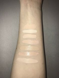Foundation/Concealer Comparisons - Album on Imgur Makeup Swatches, Concealer, Foundation, Album, Makeup Samples, Foundation Series, Card Book