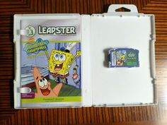 """LeapFrog Leapster Leapster2 Game """"SpongeBob Squarepants Saves the Day"""" SHIPS FREE!"""