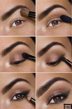 Make-up for on a regular basis Hello, beauties! In the present day I'll share with you pictures and tutorials of beautiful make-up. Eye Makeup Steps, Smokey Eye Makeup, Makeup Tips, Makeup Ideas, Makeup Tutorials, Eyeshadow Tutorials, Makeup Hacks, Eye Makeup Pictures, Eyeliner