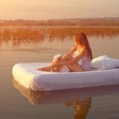 Float in the lake on an air mattress! Water Bed, Sun And Water, Illustrations, Week End, Rafting, Tequila, Serenity, Images, Relax