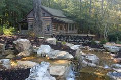 The Hunt cabin in the SC Botanical Gardens in Clemson, SC