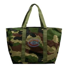 Montreal Canadiens NHL Camo Tote