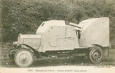 Carte Postale Postcard 1914-1918 1914 Canon Krupp l'auto fermée Krupp gun the closed car   Flickr - Photo Sharing!