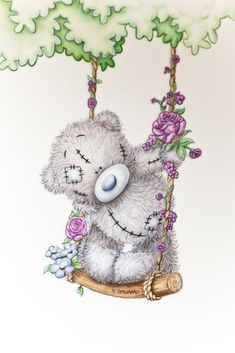 ●•‿✿⁀Taɬɬy Teddy‿✿⁀•● | Swinging