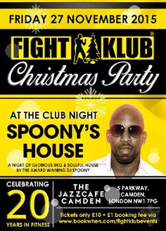 Fight Klub Christmas Party!!