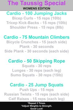My first of hopefully many weekly workouts! Try it out and tell me what you think. #Women's #Workout #textables