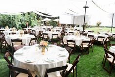 Reception Dinner Decor White Tablecloths Lace Table Runners Brown Chairs |  White-Ranch-Wedding-Photographer-Chico-California-TréCreative