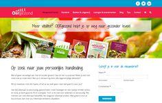 Oergezond & Oerslank - twee nieuwe websites voor Yvonne van Stigt, gezondheidsdeskundige