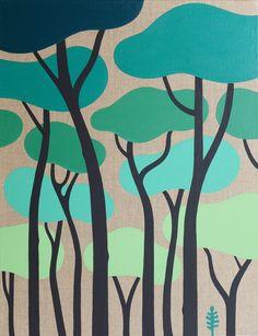 Steven Burke, artiste à Hossegor Mural Painting, Painting & Drawing, Steven Burke, Flower Phone Wallpaper, Patterns In Nature, Tree Art, Anime Art Girl, Pattern Art, Pop Art