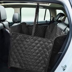 TAFCI Dog Seat Covers With Extra Side Flaps, Bonus Car Safety Belt Pet Seat Covers For Suvs - Black, Pet Seat Cover For Cars, WaterProof and Hammock Convertible ** To view further for this item, visit the image link. (This is an affiliate link and I receive a commission for the sales)