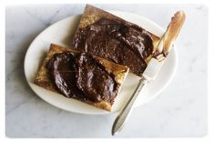 GIANDUIA - We slather this creamy chocolate and toasted hazelnut spread—our purer, more flavorful version of Nutella, the commercial brand available throughout the world—on warm toast for breakfast. (We've found that it also tastes sinfully good with Oreo cookies, but let's just keep that our little secret.)