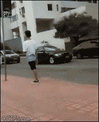 Bus-troll-shoe-foot-stuck