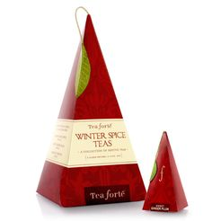 Tea Forte Winter Spice Tea - such a pretty, affordable gift for teachers, sitters, hostesses.