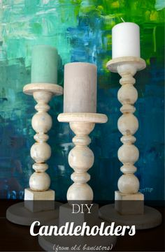 diy candle wax catcher. For a while I didn t even know what to do with this weird set 30 DIY Candle Holders Ideas That Can Beautify Your Room  Craft