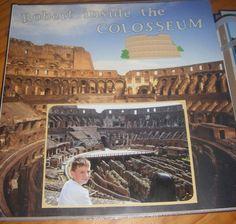 Inside the Colosseum - Scrapbook.com