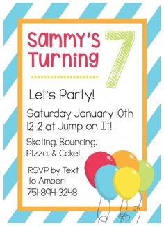 free printable pastel balloons party invitation One Charming Party