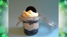 Cookies and Cream in a Jar
