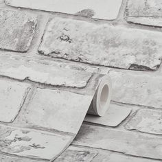 Add a rustic touch with modern inspiration to a room with this white brick wallpaper from Debona. Debona wallpaper is in stock at Go Wallpaper UK Brick Wallpaper Living Room, Brick Effect Wallpaper, White Brick Wallpaper, Look Wallpaper, Rustic Wallpaper, Brick Wallpaper Bathroom, White Bedroom Furniture, Rustic Furniture, European Furniture