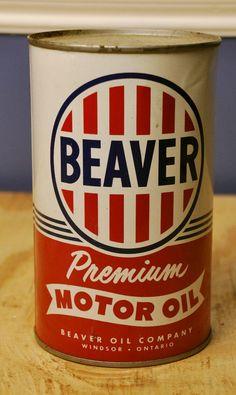 Motor Oil Can design packaging