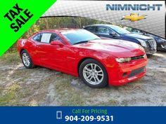 2014 Chevrolet Chevy Camaro LT w/1LT Call for Price  miles 904-209-9531 Transmission: Automatic  #Chevrolet #Camaro #used #cars #NimnichtChevrolet #Jacksonville #FL #tapcars
