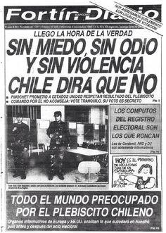25 aniversario del #no Pablo Neruda, Victor Jara, Military Dictatorship, Fidel Castro, Latin America, History, Kokoro, Medusa, Havana