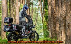 In the forests in Thailand Dual Sport, Sport Bikes, Forests, All Pictures, Motorbikes, Yamaha, Have Fun, Motorcycles, Bmw