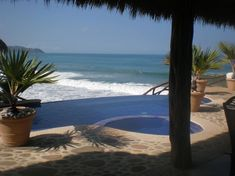 """House in Punta de Mita, Mexico. This gorgeous newly constructed luxury villa is directly on one of the most beautiful beaches in Mexico """"Litibu' Beach"""" at Nayarit Mexican Riviera, Peaceful, Nurturing, inmerse in marvelous and rich Mexican Jungle, stunning nature !!!. With infini..."""
