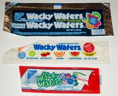 Wacky Wafers--they were just 10 cents a pack :)