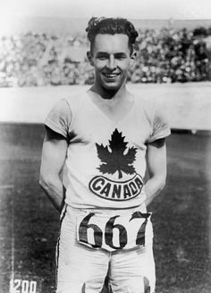 Percy Williams was a Canadian athlete, winner of the 100 m and 200 m races (Gold Medals) at the 1928 Summer Olympics (Amsterdam) and a former world record holder for the 100 metres sprint. Rio Olympics 2016, Summer Olympics, Asian Games, Record Holder, Commonwealth Games, Olympic Athletes, Track And Field, Olympians, Olympic Games