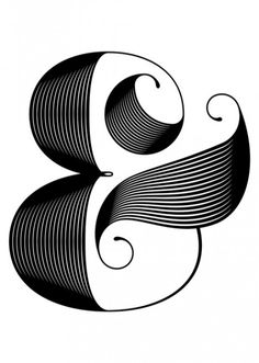Stylish ampersand. Pinned by Ignite Design  Advertising, Inc. clickandcombust.com