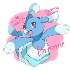 Brionne from Pokémon Sun and Moon
