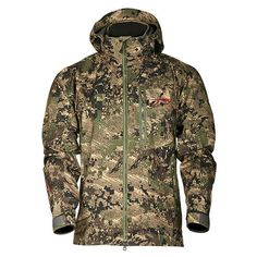 Chaqueta Sitka Coldfront Optifade Ground Forest Archery, Military Jacket, Collection, Fashion, Archery Hunting, Jackets, Moda, Military Field Jacket, Fashion Styles