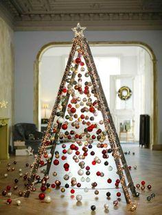 déco moderne pour Noël et idée de bricolage de sapin original