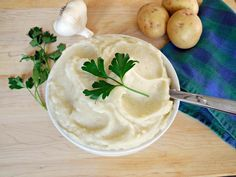 Celery Root and Garlic Mashed Potatoes
