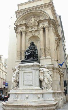 La fontaine Molière - 75001