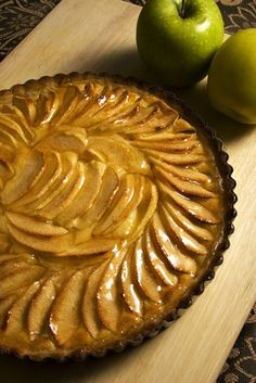 Apple pie, french style