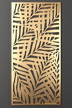Decorative Metal Screen, Decorative Panels, Garde Corps Metal, Wooden Partitions, Cnc Cutting Design, Feature Wall Design, Grill Door Design, Balcony Railing Design, Niche Design
