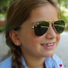 3bd60873823 More time outside means more sun exposure. Help protect their eyes with a  pair of Ray-Ban Jr.