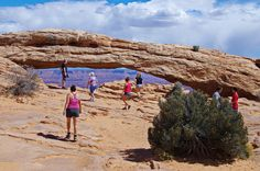 THE ULTIMATE ITINERARY FOR A TRIP TO MOAB: The Mesa Arch - Islands in the Sky Area of Canyonlands National Park